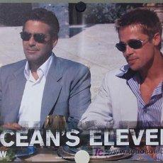 Cine: YF20D OCEAN'S ELEVEN BRAD PITT GEORGE CLOONEY SET 6 POSTERS ORIGINAL ITALIANO 47X68. Lote 16346750