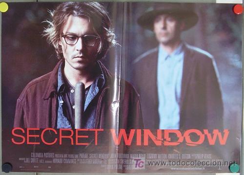 Ko44 La Ventana Secreta Johnny Depp Set 6 Poste Comprar Carteles Y