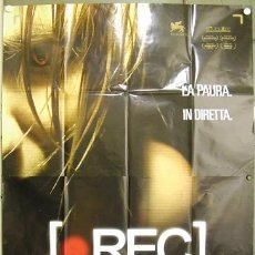 Cine: KO67 REC PACO PLAZA JAUME BALAGUERO MANUELA VELASCO POSTER ORIGINAL ITALIANO 140X200. Lote 16348469