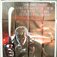 Cine: KO63 DUST DEVIL DEMONIACA RICHARD STANLEY ROBERT BURKE TERROR POSTER ORIGINAL ITALIANO 140X200. Lote 16348491
