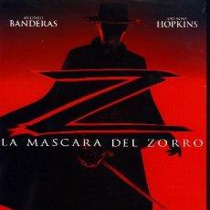 Cine: 'LA MÁSCARA DEL ZORRO', CON ANTONIO BANDERAS.. Lote 26385576