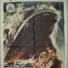 Cine: LA ULTIMA NOCHE DEL TITANIC 1958. Lote 26106020