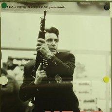 Cine: YF22D HEAT AL PACINO ROBERT DE NIRO VAL KILMER SET 8 POSTERS ORIGINALES ITALIANOS 47X68. Lote 19867283
