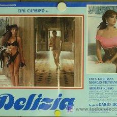 Cine: KO94 DELIZIA JOE D'AMATO SEXY DESNUDA SET DE 6 POSTERS ORIGINAL ITALIANO 47X68. Lote 16401560