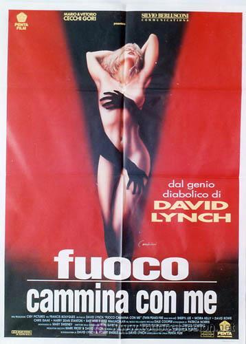 QA23 TWIN PEAKS DAVID LYNCH ESPECTACULAR SEXY POSTER ORIGINAL 100X140 ITALIANO (Cine - Posters y Carteles - Suspense)