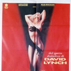 Cine: QA23 TWIN PEAKS DAVID LYNCH ESPECTACULAR SEXY POSTER ORIGINAL 100X140 ITALIANO. Lote 212427418