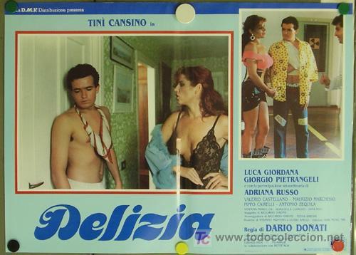 Cine: KO94 DELIZIA JOE DAMATO SEXY DESNUDA SET DE 6 POSTERS ORIGINAL ITALIANO 47X68 - Foto 3 - 16401560