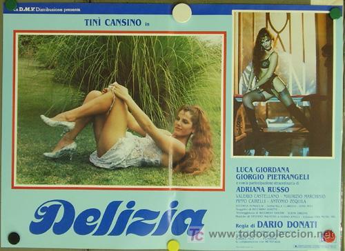 Cine: KO94 DELIZIA JOE DAMATO SEXY DESNUDA SET DE 6 POSTERS ORIGINAL ITALIANO 47X68 - Foto 6 - 16401560