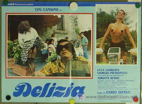 Cine: KO94 DELIZIA JOE DAMATO SEXY DESNUDA SET DE 6 POSTERS ORIGINAL ITALIANO 47X68 - Foto 5 - 16401560