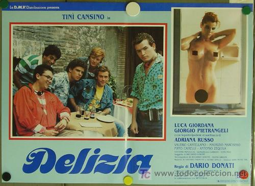 Cine: KO94 DELIZIA JOE DAMATO SEXY DESNUDA SET DE 6 POSTERS ORIGINAL ITALIANO 47X68 - Foto 4 - 16401560