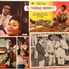 Cine: EL TERRIBLE MISTER T - PAUL WINFIELD RALPH WAITE - PAULA KELLY - MEXICAN ORIGINAL LOBBY CARD. Lote 16418012