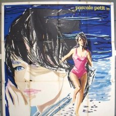 Cine: YE70D A MISTRESS FOR THE SUMMER PASCALE PETIT BRINI POSTER ORIGINAL ITALIANO 140X200. Lote 16422798