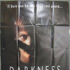 Cine: KQ14 DARKNESS JAUME BALAGUERO ANNA PAQUIN POSTER ORIGINAL ITALIANO 140X200. Lote 16422889