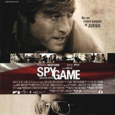 Cine: 'SPY GAME', CON ROBERT REDFORD Y BRAD PITT.. Lote 21115960