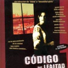 Cine: 'CÓDIGO DE LEALTAD', CON MARTIN SHEEN.. Lote 21115962