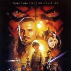Cine: 'STAR WARS. EPISODIO I: LA AMENAZA FANTASMA', DE GEORGE LUCAS.. Lote 213699312