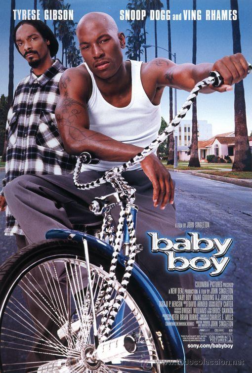 'BABY BOY', CON SNOOP DOGG. (Cine- Posters y Carteles - Drama)