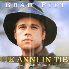 Cinema: KR04 SIETE AÑOS EN EL TIBET BRAD PITT JEAN-JACQUES ANNAUD SET DE 6 POSTERS ORIGINAL ITALIANO 47X68. Lote 16451564