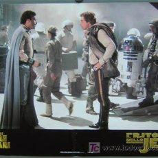 Cine: QA83 EL RETORNO DEL JEDI GUERRA DE LAS GALAXIAS STAR WARS SET DE 6 POSTERS ITALIANO 47X68. Lote 136457074