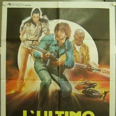 Cine: QB81 THE LAST WARRIOR WOODY STROODE CIENCIA FICCION POSTER ORIGINAL ITALIANO 100X140. Lote 16455577