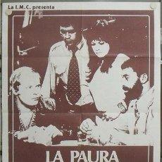 Cine: KR82 TODOS NOS LLAMAMOS ALI FASSBINDER BARBARA VALENTIN CULT POSTER ORIGINAL ITALIANO 100X140. Lote 16468725