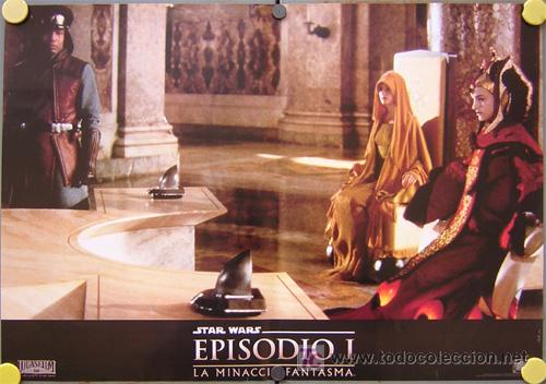 Cine: QA36d LA AMENAZA FANTASMA GUERRA DE LAS GALAXIAS STAR WARS SET de 6 POSTERS ORIGINAL ITALIANO - Foto 4 - 16470439