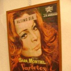 Cine: VARIETES. SARA MONTIEL. Lote 24722425