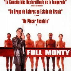 Cine: 'FULL MONTY', CON ROBERT CARLYLE.. Lote 49949617