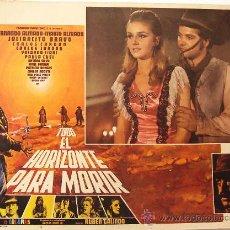Cine: TODO EL HORIZONTE PARA MORIR - WESTERN - FERNANDO ALMADA - MEXICAN ORIGINAL LOBBY CARD. Lote 16543373