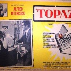 Cine: ALFRED HITCHCOCK - TOPAZ - FREDERICK STAFFORD - DANY ROBIN - - MEXICAN ORIGINAL LOBBY CARD. Lote 16543830
