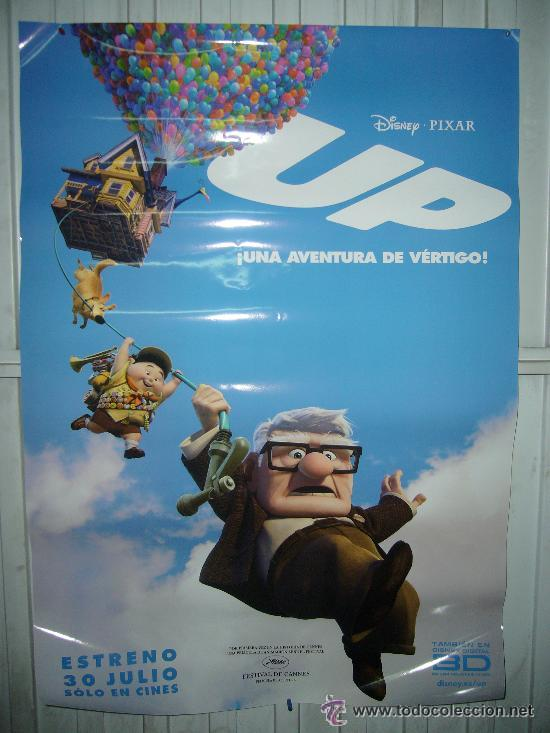 UP DISNEY PIXAR POSTER ORIGINAL ESTRENO 70X100 (Cine - Posters y Carteles - Infantil)