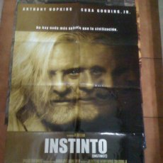 Cine: 'INSTINTO', CON ANTHONY HOPKINS.. Lote 16551396