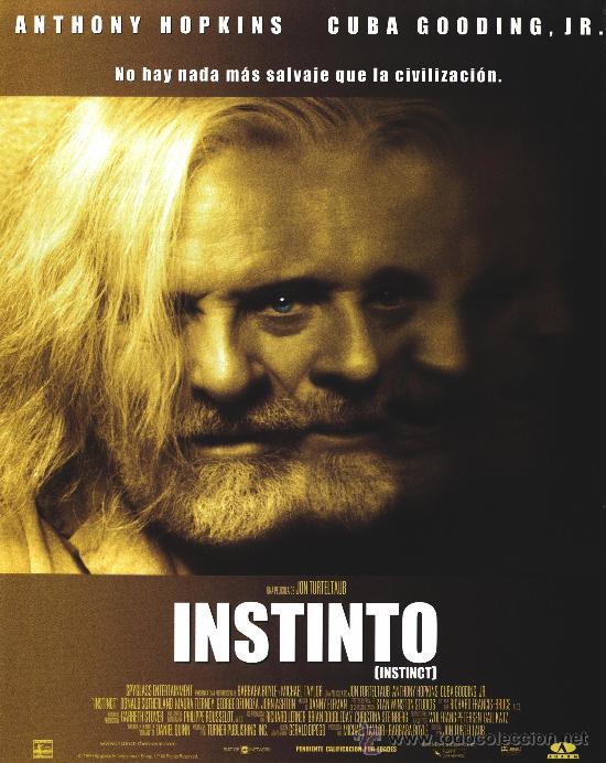 Cine: Instinto, con Anthony Hopkins. - Foto 3 - 16551396