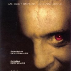 Cine: 'HANNIBAL', CON ANTHONY HOPKINS.. Lote 21252084