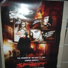 Cine: THE SPIRIT POSTER ORIGINAL 70X100. Lote 167648138