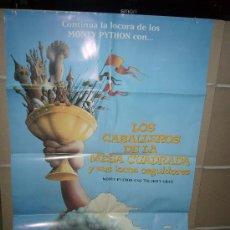 Cine: LOS CABALLEROS DE LA MESA CUADRADA MONTY PYTHON POSTER ORIGINAL 70X100. Lote 38597891
