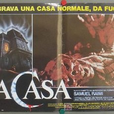 Cine: KT50 POSESION INFERNAL EVIL DEAD SAM RAIMI POSTER ORIGINAL ITALIANO 47X68. Lote 16685783