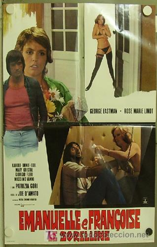 KT57 EMANUELLE'S REVENGE JOE D'AMATO PATRIZIA GORI POSTER ORIGINAL ITALIANO 68X94 (Cine - Posters y Carteles - Terror)