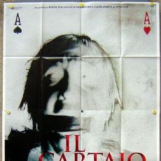 Cine: KU09 IL CARTAIO DARIO ARGENTO POSTER ORIGINAL ITALIANO 140X200. Lote 16762859