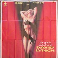 Cine: KU10 TWIN PEAKS DAVID LYNCH POSTER ORIGINAL ITALIANO 140X200. Lote 16762973