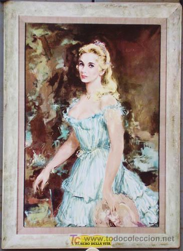 QG56 EL ARBOL DE LA VIDA EVA MARIE SAINT ESPECTACULAR DISPLAY POSTER ORIGINAL ITALIANO 34X48 (Cine - Posters y Carteles - Westerns)