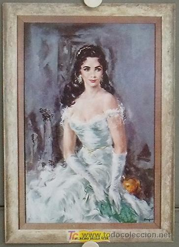 KV01 EL ARBOL DE LA VIDA ELIZABETH TAYLOR ESPECTACULAR DISPLAY POSTER ORIGINAL ITALIANO 34X48 (Cine - Posters y Carteles - Westerns)