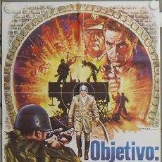 Cine: KW52 OBJETIVO PATTON SOFIA LOREN JOHN CASSAVETES MAC POSTER ORIGINAL 70X100 ESTRENO. Lote 17039581