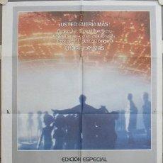 Cine: KW87 ENCUENTROS EN LA TERCERA FASE STEVEN SPIELBERG EDICION ESPECIAL POSTER ORIGINA ESPAÑOL 70X100. Lote 17043811