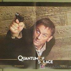 Cine: KX87 QUANTUM OF SOLACE JAMES BOND 007 DANIEL CRAIG SET DE 6 POSTERS ORIGINAL ITALIANO 47X68. Lote 17079500