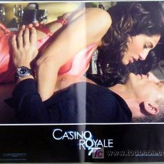 Cine: KX89 CASINO ROYALE JAMES BOND 007 MICHAEL CRAIG SET DE 6 POSTERS ORIGINAL ITALIANO 47X68. Lote 17079600