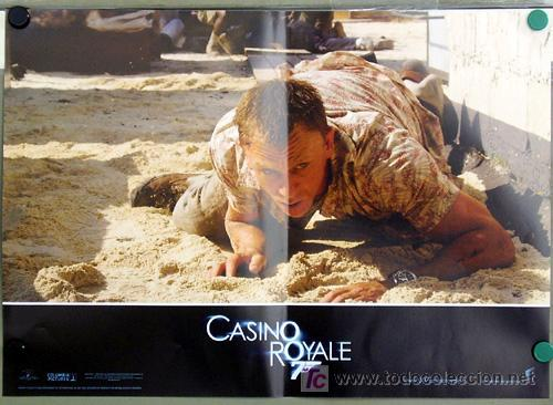 Cine: KX89 CASINO ROYALE JAMES BOND 007 MICHAEL CRAIG SET 6 POSTERS ORIGINAL ITALIANO 47X68 - Foto 4 - 17079600