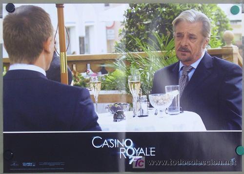 Cine: KX89 CASINO ROYALE JAMES BOND 007 MICHAEL CRAIG SET 6 POSTERS ORIGINAL ITALIANO 47X68 - Foto 5 - 17079600