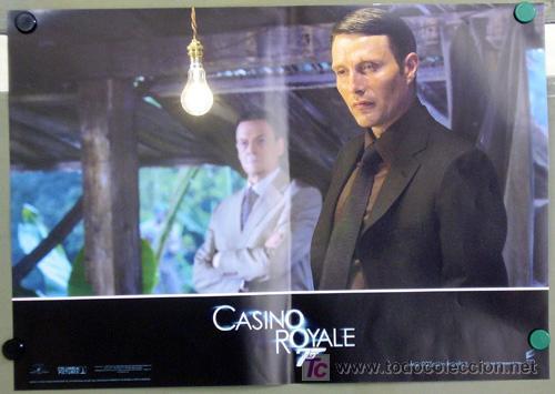 Cine: KX89 CASINO ROYALE JAMES BOND 007 MICHAEL CRAIG SET 6 POSTERS ORIGINAL ITALIANO 47X68 - Foto 3 - 17079600