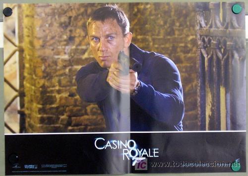 Cine: KX89 CASINO ROYALE JAMES BOND 007 MICHAEL CRAIG SET 6 POSTERS ORIGINAL ITALIANO 47X68 - Foto 6 - 17079600